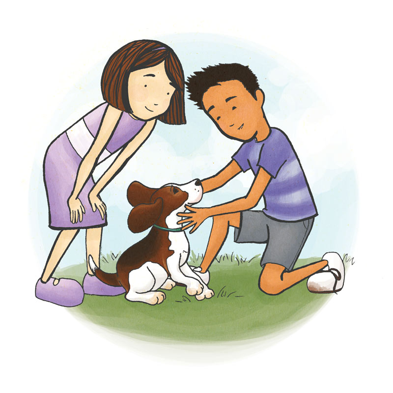 Ruth, James and Pooch